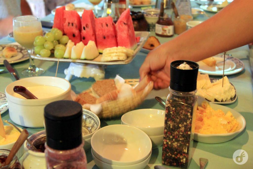 Café da manhã na Estalagem e Atelier Alcino (foto da internet)