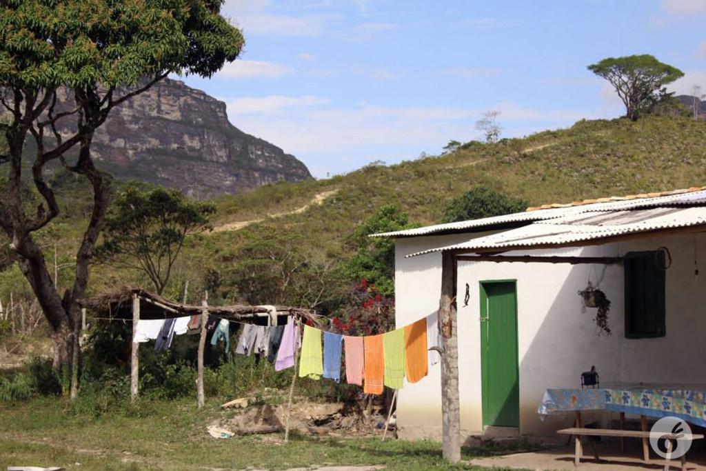Casa do Seu Nô, onde ficamos hospedados duas noites.