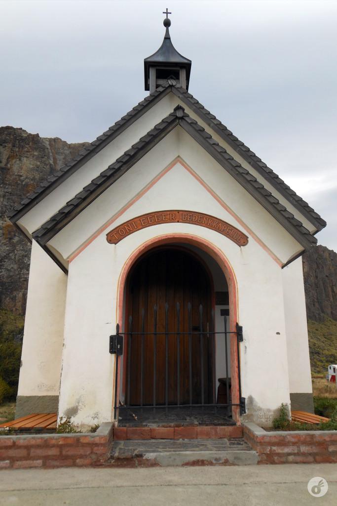 A capela - um memorial aos que ficaram nas montanhas.