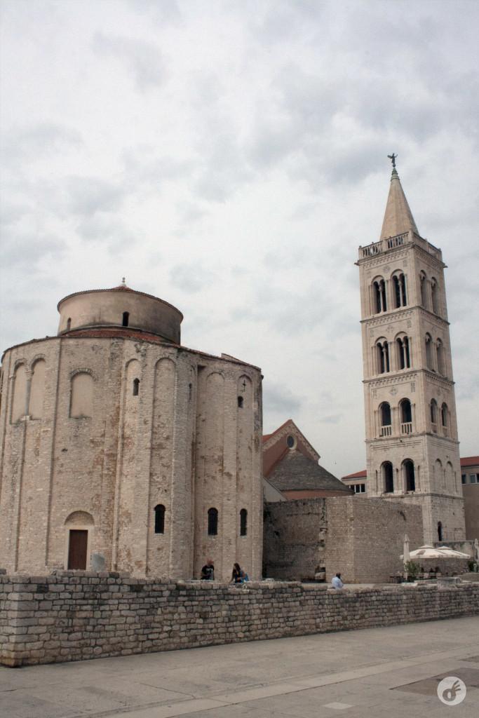 Sete séculos depois, a Igreja de São Donatus.