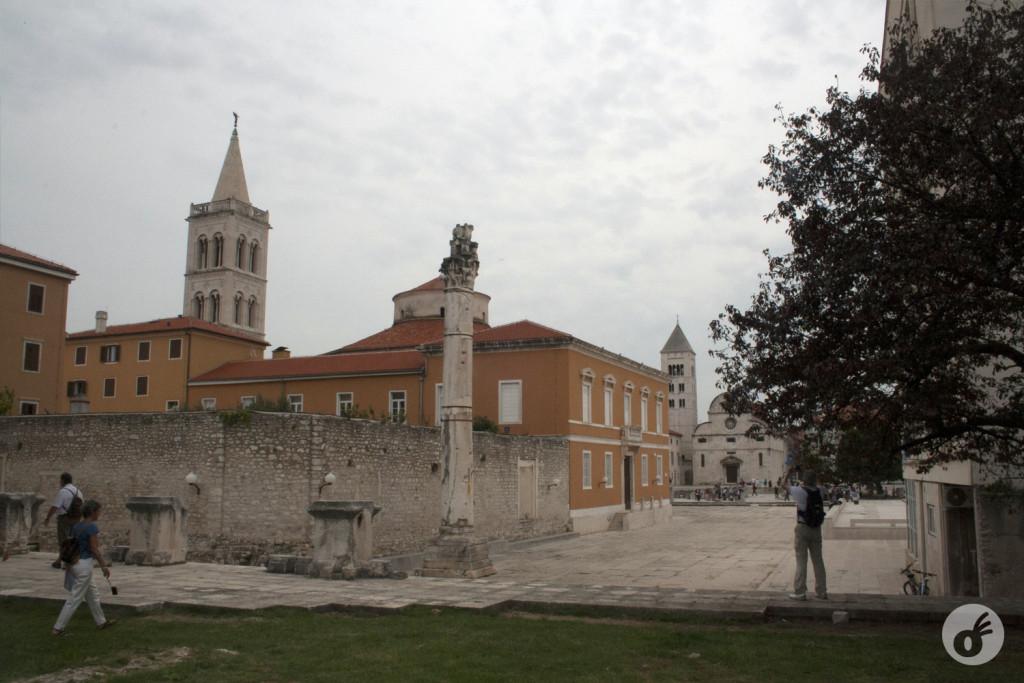 ...a idade e a beleza de Zadar.