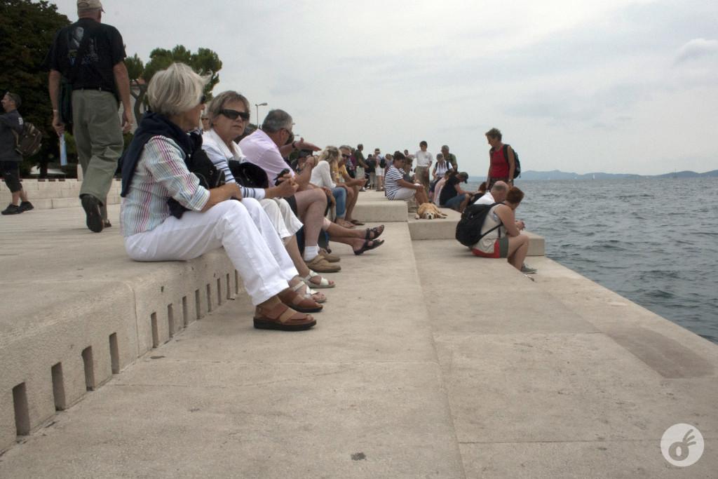 """...encontramos """"o tecladinho de Zadar""""."""
