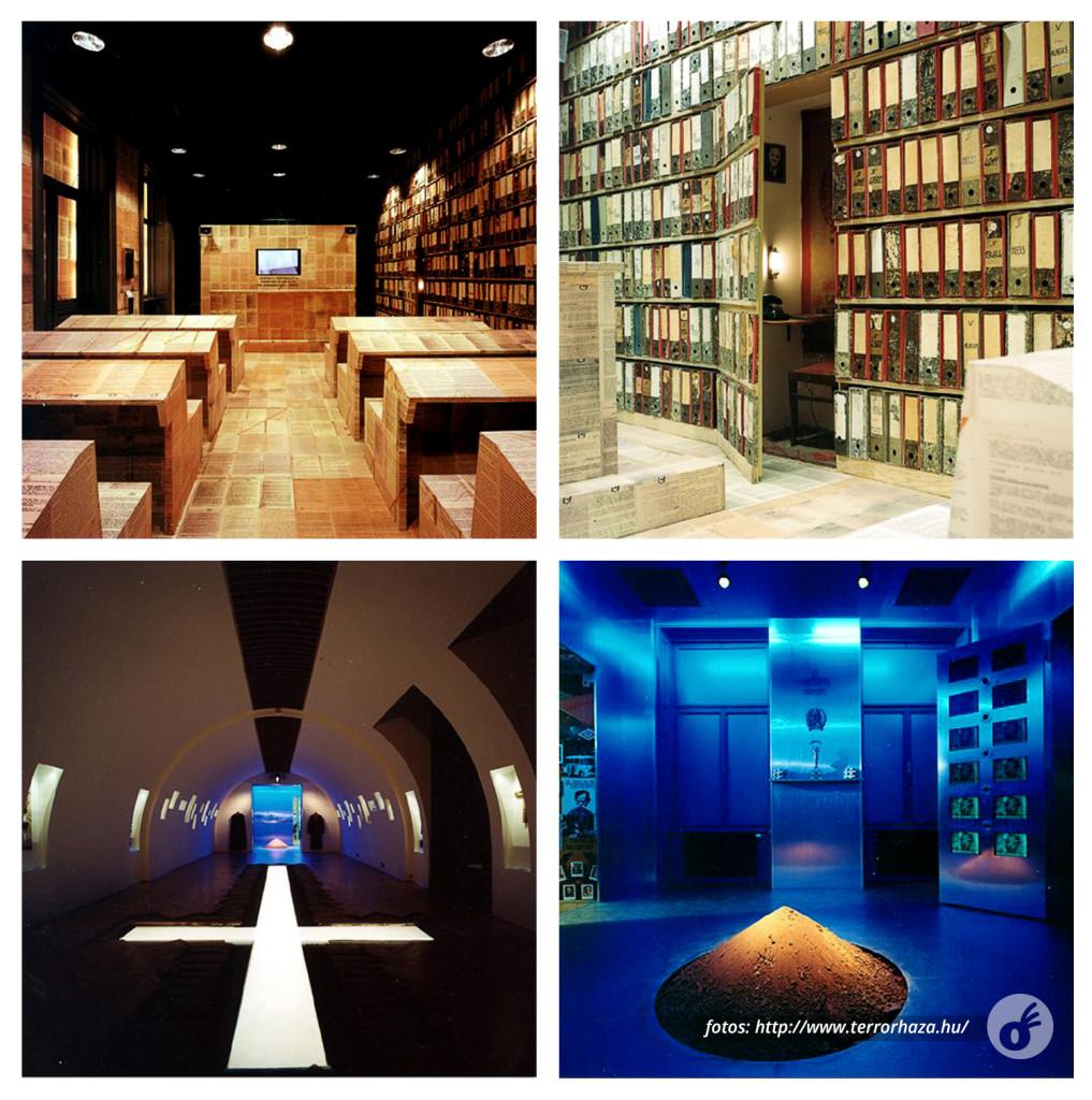 Duas das salas mais impressionantes, sobre censura e religião.