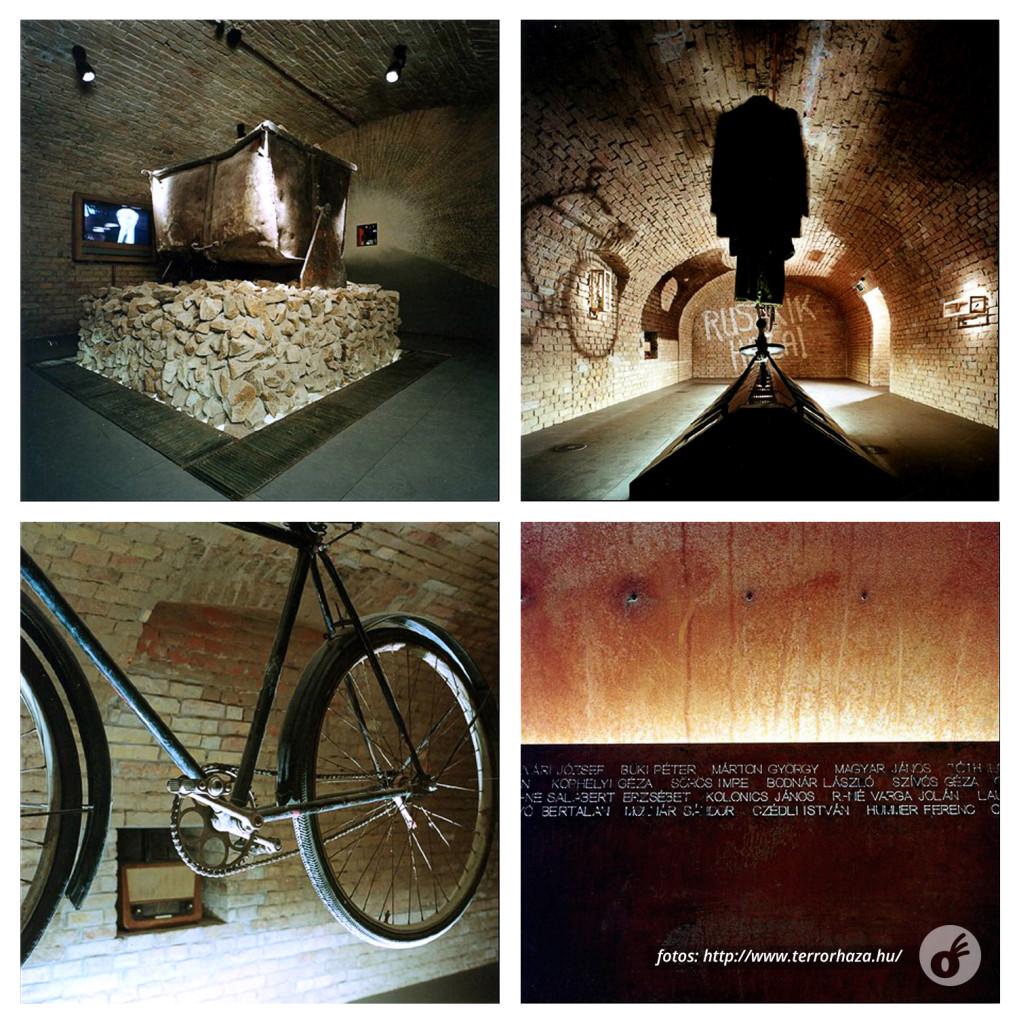 Apesar da iluminação bonita, um dos locais mais tristes do museu.