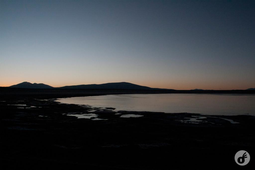 Ainda sem sol, mas com uma paisagem que vale acordar cedo.