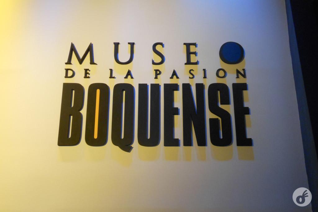 A entradinha do museu, e o anúncio que a coisa ali é sobre paixão mesmo.