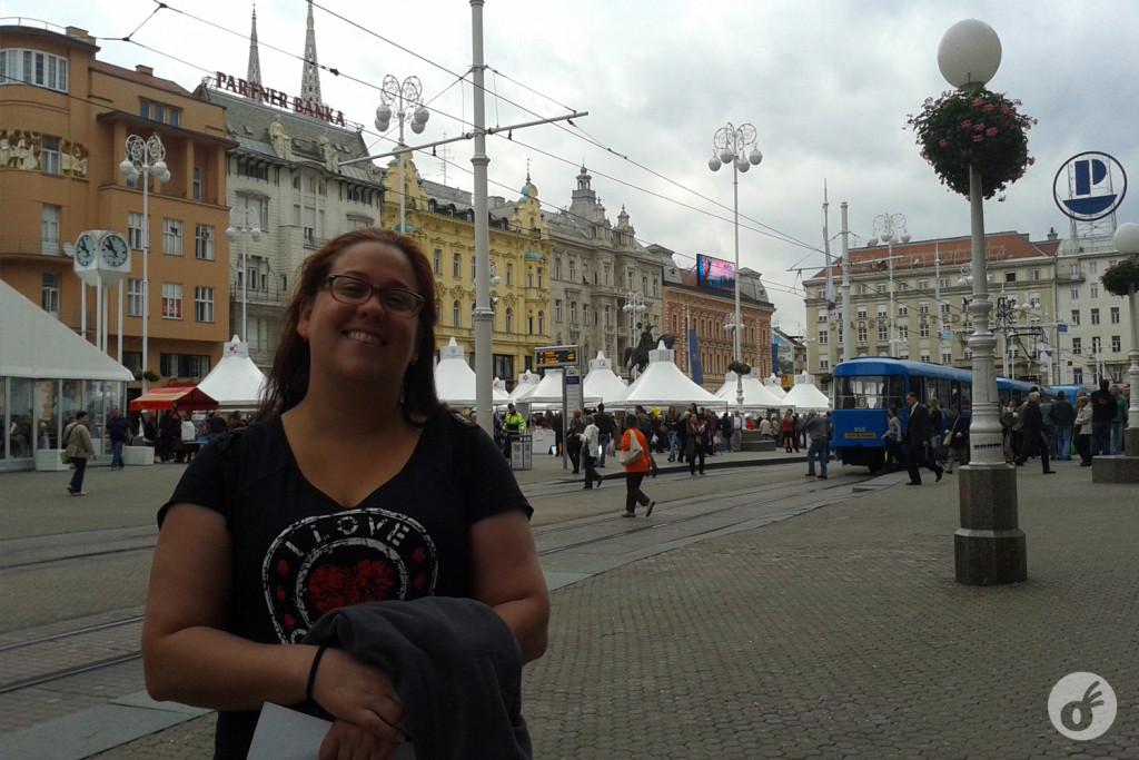 Um dia pra descobrir Zagreb. Simbora pra praça central!