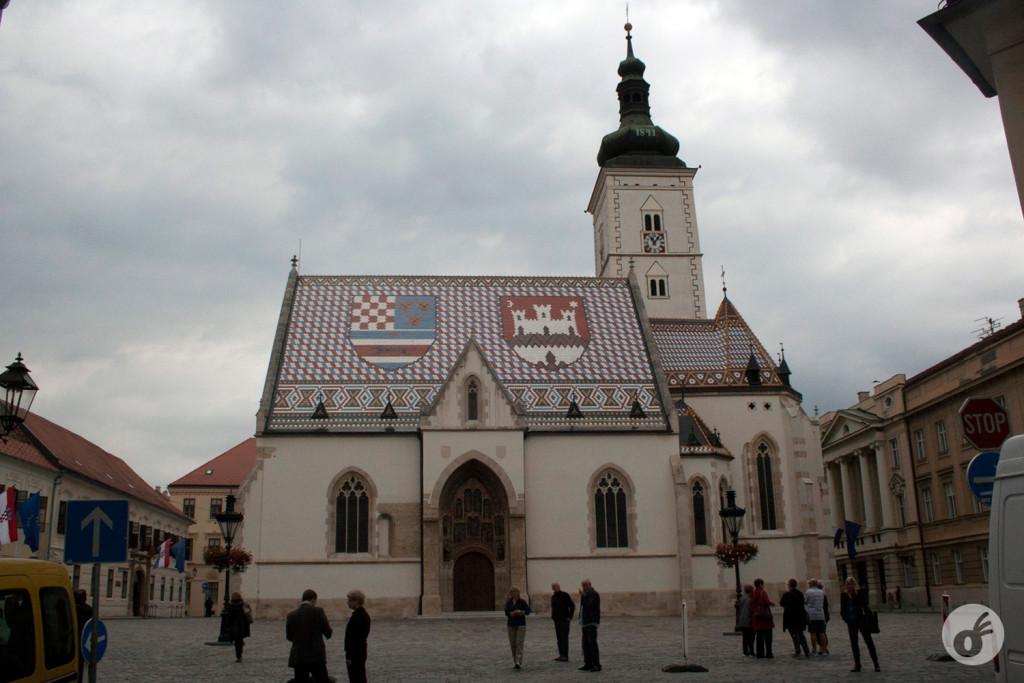 A bela igreja de St. Mark...