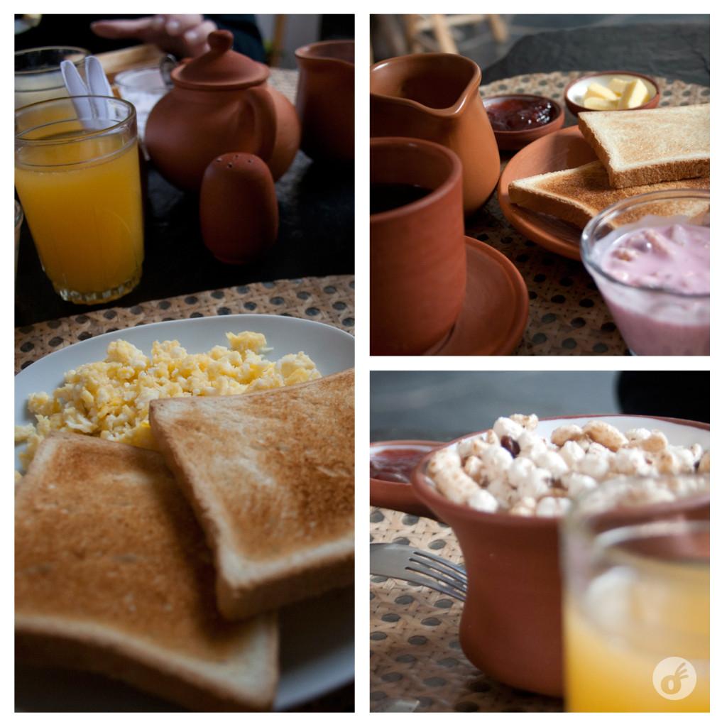 Café da manhã que deixa saudades :)