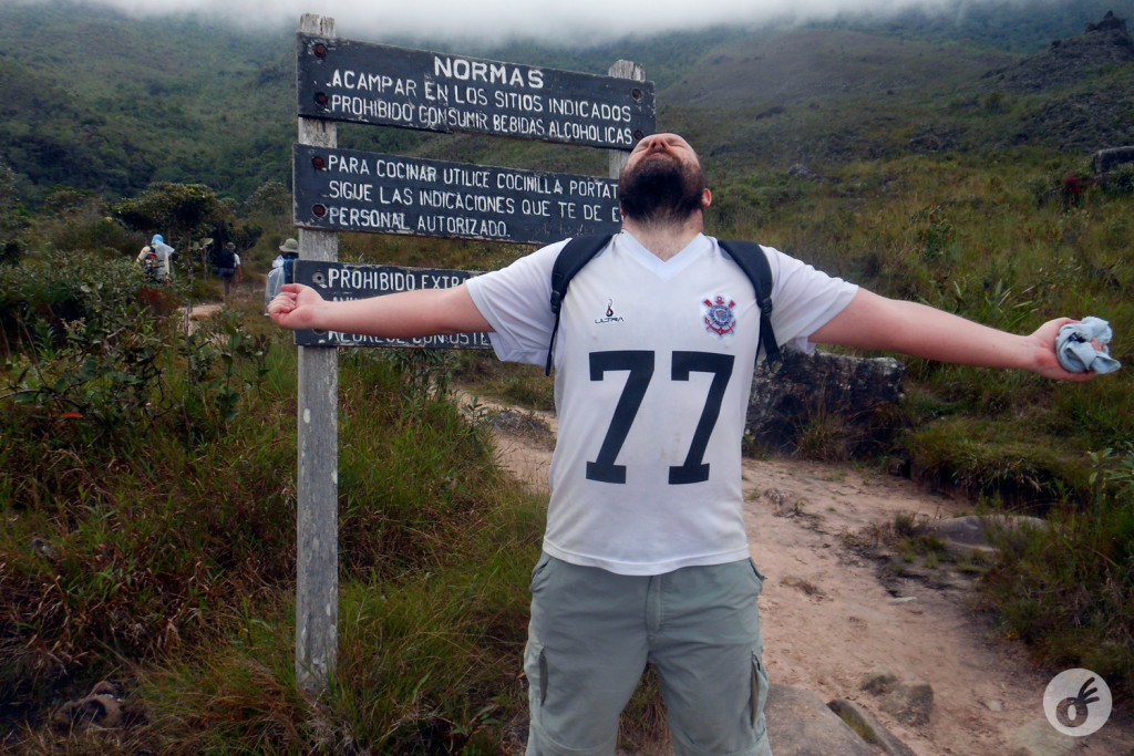 E mais treze quilômetros vencidos!