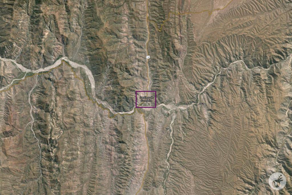 Procurem Santiago de Cotagaita no Google, e coloquem em mapa/geográfico. Divirtam-se com a nossa desgraça. Se quiserem rir mais, procurem na Wikipedia: a descrição da cidade tem UMA LINHA.