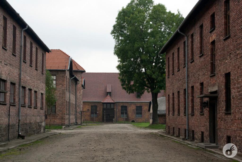 A beleza mórbida e pesada de Auschwitz I.