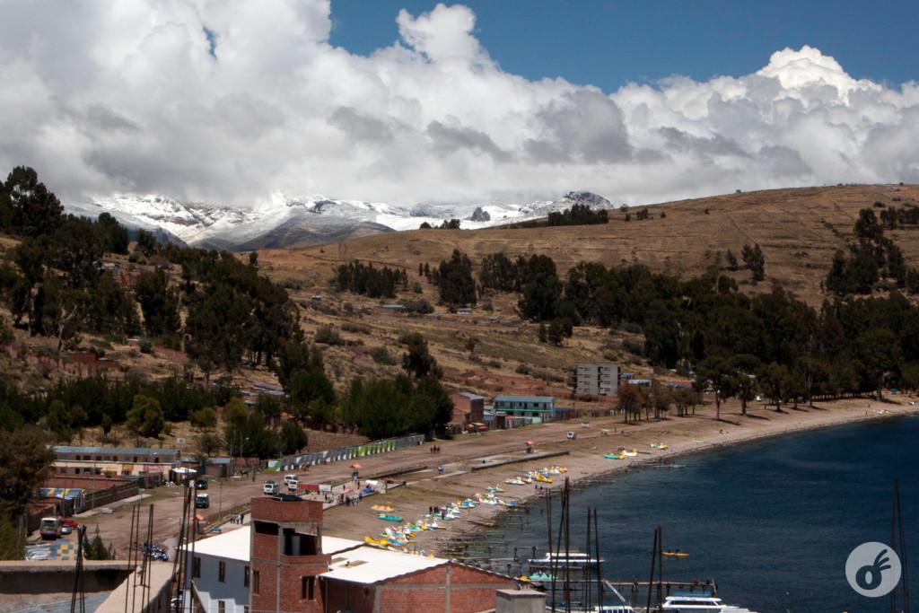 ...e os Andes logo adiante, nos recebendo, para dias melhores que viriam a seguir.