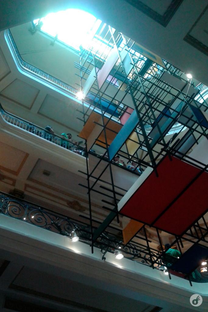 Um intervalo providencial no Centro Cultural Banco do Brasil, e um teaser da exposição do Mondrian que está acontecendo por lá.